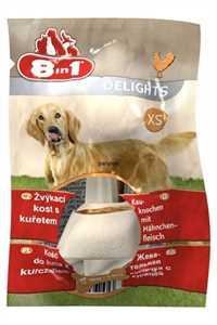 8in1 Delights Tavuklu Küçük Irk Köpek Ödül Kemiği (XS) 12gr