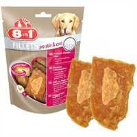 8in1 Fillets Pro Skin Deri Ve Tüy Sağlığı İçin Köpek Ödül Maması Small 80gr