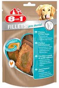 8in1 Pro Dental Tavuklu Köpek Ödül Maması 80gr
