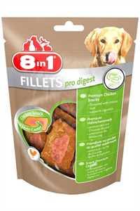 8in1 Pro Digest Sindirim Sistemi Destekleyici Tavuklu Köpek Ödül Maması 80gr
