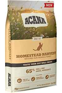 Acana Homestead Harvest Tavuk ve Hindi Etli Yetişkin Kedi Maması 1,8kg