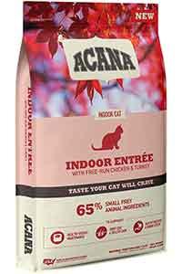 Acana Indoor Entree Tavuk ve Hindi Etli Kısırlaştırılmış Kedi Maması 4,5kg