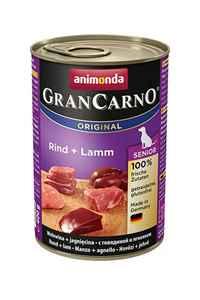 Animonda GranCarno Senior Sığır Etli ve Kuzulu Yaşlı Köpek Konservesi 400gr
