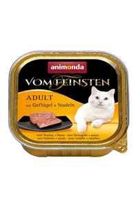 Animonda Kümes Hayvanı ve Makarnalı Kedi Konservesi 100gr