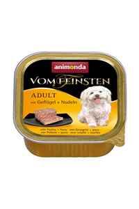 Animonda Kümes Hayvanı ve Makarnalı Yetişkin Köpek Konservesi 150gr