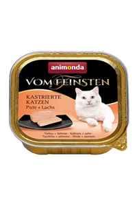 Animonda Hindi ve Somonlu Kısırlaştırılmış Kedi Konservesi 100gr