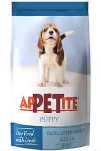 Appetite Kuzu Etli Yavru Köpek Maması 3kg
