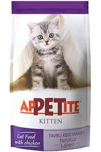 Appetite Tavuklu Yavru Kedi Maması 1,5kg