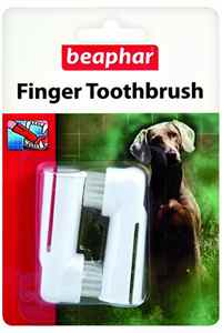 Beaphar Parmak Tipi Köpek Diş Fırçası 2 Adet
