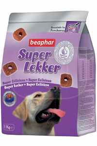 Beaphar Süper Lekker Sığır Eti ve Pirinçli Köpek Ödülü 1kg