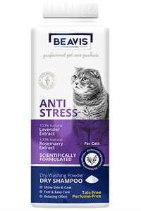 Beavis Anti Stress Lavanta ve Biberiye Özlü Kedi Toz Şampuan 150gr