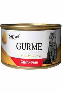 Best Pet Gurme Jöleli Biftekli Yetişkin Kedi Konservesi 100gr
