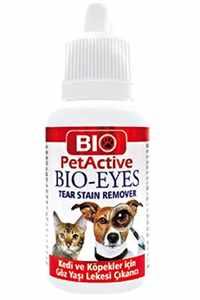 Bio PetActive Kedi ve Köpekler İçin Gözyaşı Leke Çıkarıcı Losyon 50ml