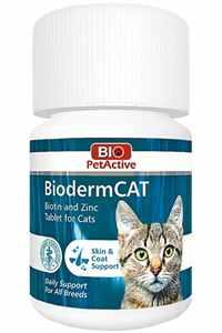 Bio PetActive Kediler İçin Çinko ve Biotin Tableti 100 Tablet