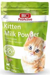 Bio PetActive Kitten Milk Yavru Kedi Süt Tozu 200gr