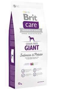 Brit Care Giant Tahılsız Somon ve Patatesli İri Irk Yetişkin Köpek Maması 12kg