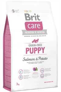Brit Care Puppy Tahılsız Somon ve Patatesli Yavru Köpek Maması 3kg
