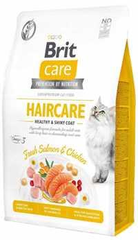 Brit Care Haircare Deri ve Tüy Sağlığı için Tahılsız Yetişkin Kedi Maması 2kg