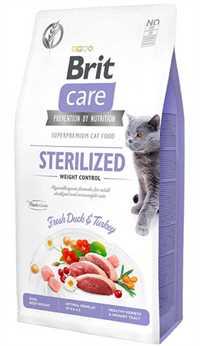 Brit Care Kilo Kontrolü için Ördekli Tahılsız Kısırlaştırılmış Kedi Maması 2kg