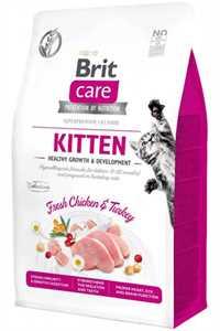 Brit Care Kitten Bağışıklık Güçlendirici Tavuklu Yavru Kedi Maması 7kg
