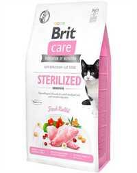 Brit Care Sindirim Sistemi Destekleyici Tavşan Etli Tahılsız Kısırlaştırılmış Kedi Maması 2kg
