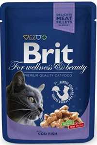 Brit Morina Balıklı Kedi Konservesi 100gr