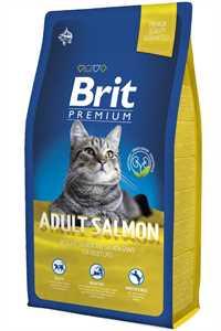 Brit Premium Somonlu Yetişkin Kedi Maması 8kg