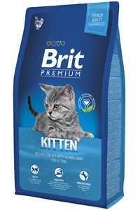 Brit Premium Kitten Tavuk ve Somonlu Yavru Kedi Maması 8kg