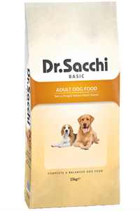 Dr.Sacchi Tavuklu Yetişkin Köpek Maması 15kg
