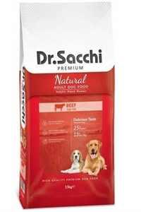 Dr.Sacchi Sığır Etli Yetişkin Köpek Maması 15kg