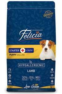 Felicia Düşük Tahıllı Hipoalerjenik Kuzu Etli Küçük ve Orta Irk Küçük Yavru Köpek Maması 6kg