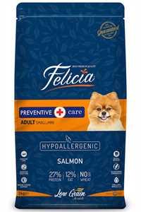 Felicia Düşük Tahıllı Hipoalerjenik Somonlu Küçük Irk Yetişkin Köpek Maması 3kg
