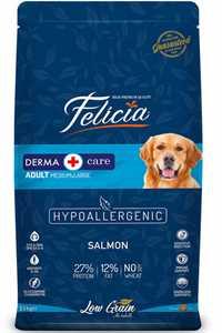 Felicia Düşük Tahıllı Hipoalerjenik Somonlu Orta ve Büyük Irk Yetişkin Köpek Maması 15kg