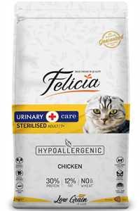 Felicia Düşük Tahıllı Hipoalerjenik Tavuklu Kısırlaştırılmış Yaşlı ve Yetişkin Kedi Maması 12kg