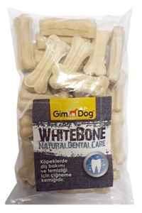 GimDog Mordimi Press Köpek Ödül Kemiği 5cm (25li) Beyaz