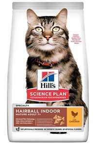 Hills Hairball Indoor Tavuklu Tüy Yumağı Önleyici Yaşlı Kedi Maması 1,5kg