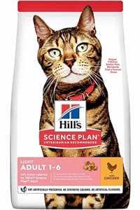 Hills Light Düşük Kalorili Tavuklu Yetişkin Kedi Maması 3kg