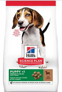 Hills Puppy Kuzu Etli Orta Irk Yavru Köpek Maması 2,5kg