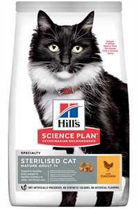 Hills Tavuklu Kısırlaştırılmış Yaşlı Kedi Maması 1,5kg