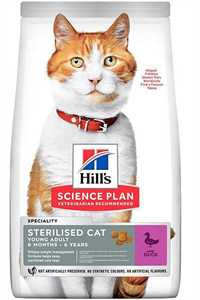 Hills Ördek Etli Kısırlaştırılmış Kedi Maması 10kg
