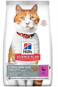 Hills Ördek Etli Kısırlaştırılmış Kedi Maması 3kg