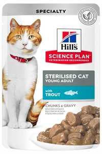 Hills Alabalıklı Kısırlaştırılmış Kedi Konservesi 85gr