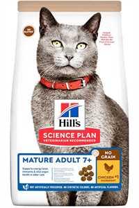 Hills Tahılsız Mature Adult +7 Tavuklu Yaşlı Kedi Maması 1,5kg