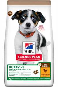 Hills Tahılsız Tavuklu Küçük Orta Irk Yavru Köpek Maması 2,5kg