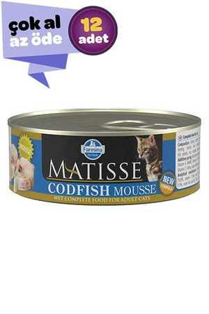 Matisse Morina Balıklı Yetişkin Kedi Konservesi 12x85gr (12li)