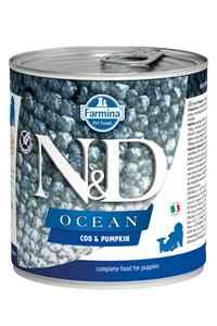 ND Ocean Tahılsız Morina Balığı ve Balkabaklı Yavru Köpek Konservesi 285gr