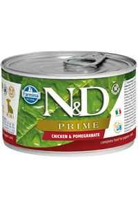 ND Prime Tahılsız Tavuk ve Narlı Yetişkin Köpek Konservesi 140gr