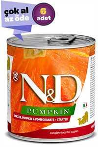 ND Pumpkin Starter Tahılsız Tavuk Balkabağı ve Narlı Yavru Köpek Konservesi 6x285gr (6lı)
