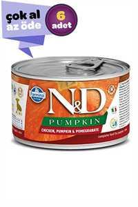 ND Pumpkin Starter Tavuklu Puppy Yavru Köpek Konservesi 6x140gr (6lı)