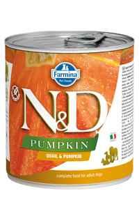 ND Pumpkin Tahılsız Bıldırcın ve Balkabaklı Yetişkin Köpek Konservesi 285gr